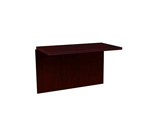 (Wood & Style Office Home Furniture Premium Valido 11500 Series 47 by 24 by 29-1/2-Inch Bridge for Peninsula/Desk/Credenza, Mahogany)