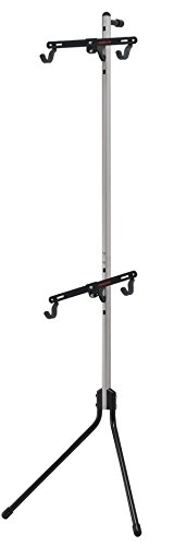 Minoura Gravity Stand-2 Leaning 2-Bike Stand Off-White