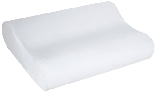 sleep innovations contour memory foam pillow with 100 cotton cover made in the usa with a 5year warranty standard size - Tempurpedic Pillows