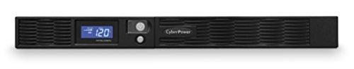 CyberPower PR750LCDRM1U Smart App Sinewave UPS System, 750VA/560W, 6 Outlets, AVR, 1U Rackmount -