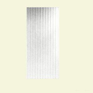Swanstone DWP-3696BB-1.011 Beadboard 96-Inch High Decorative Wall Panels, Tahiti White
