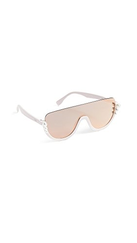 4a08219ad20 Fendi Women s Bottom Frame Imitation Pearl Sunglasses – Max One ...