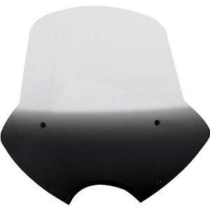 Memphis Shades Windscreen (Memphis Shades Speed Demon Gradient Black Sportshield MEP5411)