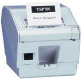 Star Micronics TSP743C II-24, Parallel, Black With Cutter, 39442210 (With Cutter excl. power supply)