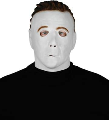 Paper Magic Men's Michael Myers Promotional Mask, White, One Size -