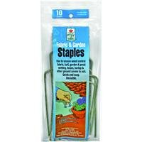 Fabric & Garden Staples Attaches Landscape Fabric and Turf to Soil (4 inches x 1 inch) 10 Staples