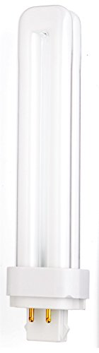 Sylvania Fluorescent (Sylvania 20673 26W Compact Fluorescent 4-Pin Double Tube 3500K 4-PACK)
