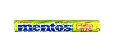 Mentos Chewy Dragees Candy Tablet 1 Roll – Sour Mix Amazing of Thailand