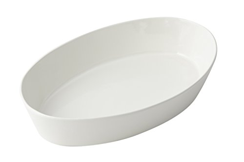 Bon Chef 5088 Aluminum Oval Baker Dish, 4 quart Capacity, 15-3/4