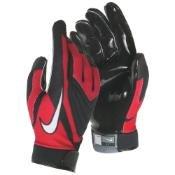 Nike Alpha Menace Pro Mid Mens Football Cleats 871451 611 University Red/White - White (13)