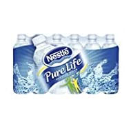 """Nestle Waters North America 101264 """"Nestle Pure Life"""" Purified Water 16.9 Oz (Pack of 24)"""