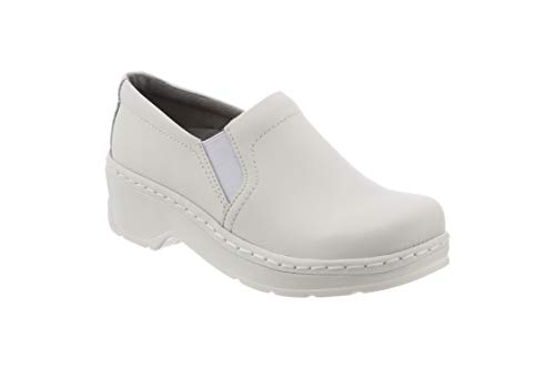 KLOGS Footwear Women's Naples Leather Closed-Back Nursing Clog