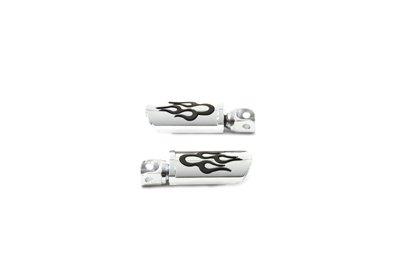 V-Twin 27-3550 Flame Style Adjustable Footpeg Set -