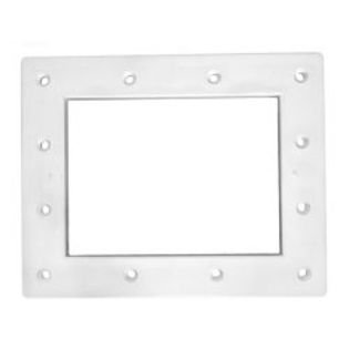 - Pentair 516265 White Wide Mouth Throat Face Plate Replacement Kit Bermuda Gunite and Vinyl Liner Skimmer