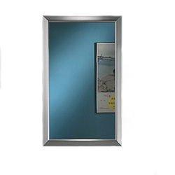 chic Broan-NuTone 625N244SNC Hampton Recessed and Framed Medicine Cabinet, Satin Nickel