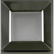 EMI YOSHI INC., SQUARES 9 1/2 INCHES DINNER PLATE BLACK 12-10, Manufacturer Part Number: EMI-SP9B