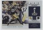 super bowl iii ticket - Donald Driver (Football Card) 2011 Playoff Contenders - Super Bowl Tickets #3