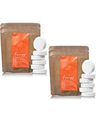 Bath and Body Works 2 Pack Energy - Orange & Ginger In Shower Steamer. 0.8 Oz.