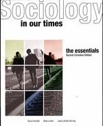 Sociology in Our Times the Essentials Second Canadian Edition