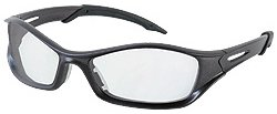 Crews (MCR Safety Glasses) TB110AF - Tribal Safety Glasses - Anti-Fog, Scratch Resistant, Transparent Lens, Gray Frame/Temple Color, Polycarbonate, Universal Size, ANSI Z87x2b, MIL-P, Pack of 15