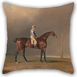 Oil Painting Benjamin Marshall - Diamond, With Dennis Fitzpatrick Up Pillow Covers 20 X 20 Inches / 50 By 50 Cm Gift Or Decor For Divan,family,play Room,lover,office,valentine - Both Sides