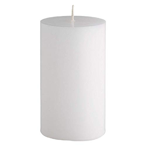 Unscented Natural Vegan Soy Wax 2 inches x 3.8 inches Pillar candle