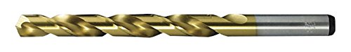 29//64 29//64 08260 Viking Drill and Tool 8260 0 Type 240-D 135 Degree Split Point Cobalt Jobber Gold Finish Drill Bit 6 Pack