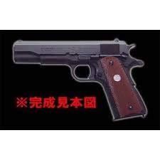マルシン コルトガバメント M1911A1 発火モデルガン組立キット WディープブラックABS B07SQ5724W