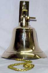 4'' Brass Ship's Bell by Unknown