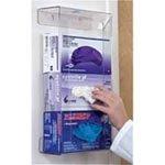 (Detecto Glove Box Dispenser - Plexiglass 3 Unit - Model 89513 - Each)