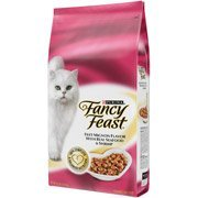 Fancy Feast Dry Filet Mignon with Real Seafood and Shrimp Cat Food, 12 lbs by Unknown by Unknown