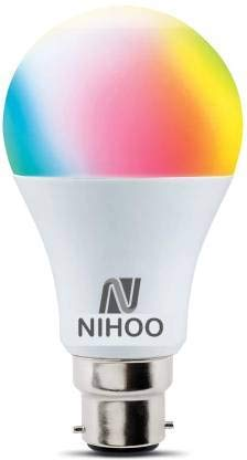 NIHOO 7 W Standard B22 LED Bulb  Multicolor   PACK1