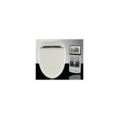 Coco Bidet 6035R Elongated Electronic Toilet Seat Remote Control Heated Seat Air Dry & Deodorizer lovely