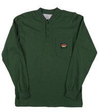 Rasco FR Hunter Green Henley T-Shirt 100% Preshrunk Cotton NFPA 2112 XL