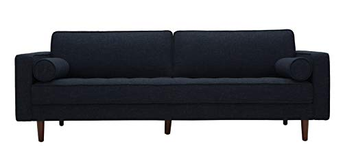 Living Room Amazon Brand – Rivet Aiden Mid-Century Modern Sofa Couch (86.6″W) – Wathet Blue modern sofas and couches