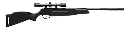 (Stoeger Black Synthetic Monte Carlo-Style Stock and 4 x 32 Scope. 177 Cal./ 1200 FPS)