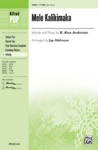Mele Kalikimaka - Words and music by R. Alex Anderson / arr. Jay Althouse - Choral Octavo - TTBB (Ttbb Sheet Choral Music)