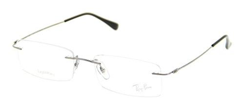 Ray Ban RX8680 1127 53mm Titanium Tech Light Ray Eyeglasses Bundle-2 Items