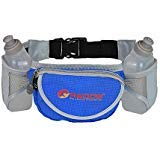 Durable Handy Running Hydration Belt ~ With 2 bottels included 10 Oz Each ~ Perfect Fuel Belt  ~ Runners Waist Pack by Redob