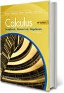 Calculus Graphical, Numerical, Algebraic, AP Edition, Annotated Teachers Edition, 5th Edition