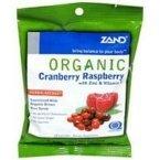 Cranberry Raspberry Lozenge (Organic Cranberry Raspberry Herbal - 18 - Lozenge by Zand)