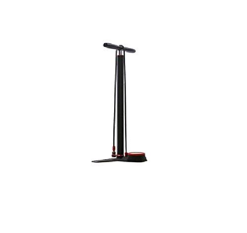 Silca Super Pista Floor Pump, Black with Red Accent