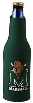 Marshall Thundering Herd Bottle Suit Koozie Cooler (Marshall Thundering Herd Bottle)