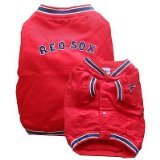 Sporty K9 MLB Boston Red Sox Dugout Dog Jacket, Small