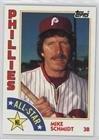 Mike Schmidt (Baseball Card) 1984 Topps - [Base] #388 (Schmidt Card Baseball)