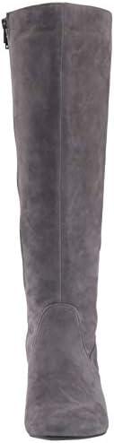 Aerosoles Women's Cannonball Knee High Boot, Grey Suede, 3 UK