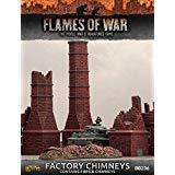 - Flames War: Battlefield in a Box: Factory Chimneys FOW BB236