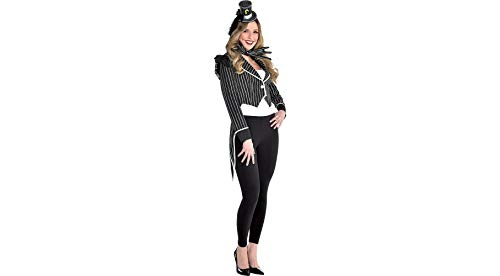Party City The Nightmare Before Christmas Jack Skellington Jacket for Women, One -