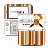 Pokemon Eevee Limited Edition VINYL SKIN STICKER DECAL COVER for Nintendo 3DS XL / LL Console System