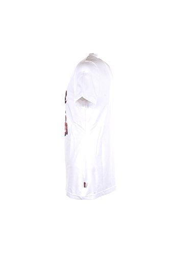 T-shirt Uomo Carlsberg S Bianco Cbu3030 Primavera Estate 2018